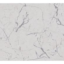 Livingwalls Vliestapete Metropolitan Stories Marmortapete Alena St. Petersburg grau metallic weiß 378556 10,05 m x 0,53 m