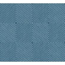 Livingwalls Vliestapete Metropolitan Stories Nils Olsson Copenhagen blau metallic 369264 10,05 m x 0,53 m