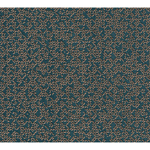 Livingwalls Vliestapete Metropolitan Stories orientalische Tapete Said Marrakesch blau grau metallic 378664 10,05 m x 0,53 m