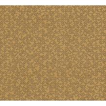 Livingwalls Vliestapete Metropolitan Stories orientalische Tapete Said Marrakesch braun gelb metallic 378661 10,05 m x 0,53 m