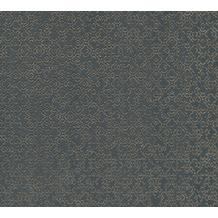 Livingwalls Vliestapete Metropolitan Stories orientalische Tapete Said Marrakesch grau metallic 378665 10,05 m x 0,53 m