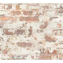 Livingwalls Vliestapete Metropolitan Stories Paul Bergmann Berlin grau orange weiß 369291