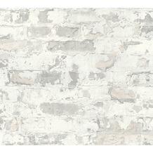 Livingwalls Vliestapete Metropolitan Stories Paul Bergmann Berlin grau weiß 369293 10,05 m x 0,53 m