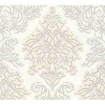 Livingwalls Vliestapete Glitter Metropolitan Stories Lizzy London beige metallic weiß 368982 10,05 m x 0,53 m