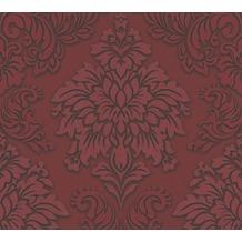 Livingwalls Vliestapete Glitter Metropolitan Stories Lizzy London metallic rot schwarz 368983 10,05 m x 0,53 m