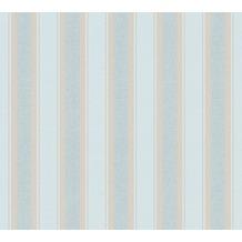 Livingwalls Vliestapete mit Glitter Neue Bude 2.0 Streifentapete beige braun grün 361672 10,05 m x 0,53 m
