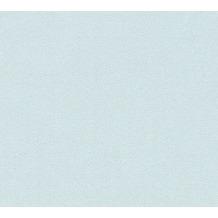 Livingwalls Vliestapete mit Glitter Neue Bude 2.0 Unitapete blau grün 361682 10,05 m x 0,53 m