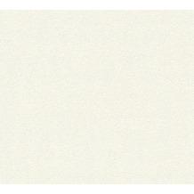 Livingwalls Vliestapete mit Glitter Neue Bude 2.0 Unitapete weiß 361681 10,05 m x 0,53 m