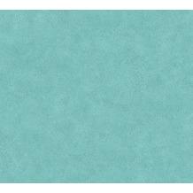 Livingwalls Vliestapete Neue Bude 2.0 Unitapete blau grün 362069 10,05 m x 0,53 m