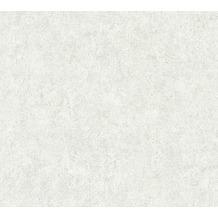 Livingwalls Vliestapete Neue Bude 2.0 Unitapete grau beige creme 362073 10,05 m x 0,53 m