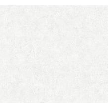 Livingwalls Vliestapete Neue Bude 2.0 Unitapete grau weiß 362074 10,05 m x 0,53 m