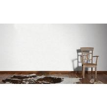 Livingwalls Vliestapete Neue Bude 2.0 Unitapete grau weiß 10,05 m x 0,53 m