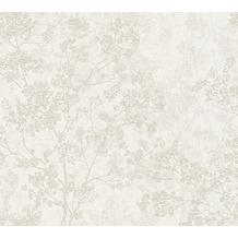 Livingwalls Vliestapete New Walls Tapete Cosy & Relax in Ast Optik beige creme grau 373972 10,05 m x 0,53 m