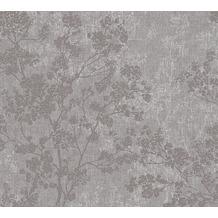 Livingwalls Vliestapete New Walls Tapete Cosy & Relax in Ast Optik grau beige braun 373971 10,05 m x 0,53 m