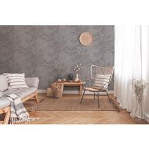 Livingwalls Vliestapete New Walls Tapete Cosy & Relax in Ast Optik grau beige braun 10,05 m x 0,53 m
