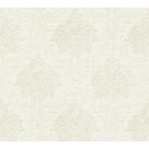 Livingwalls Vliestapete Paradise Garden Tapete mit Ornamenten barock weiß metallic 367168 10,05 m x 0,53 m