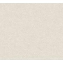 Livingwalls Vliestapete Paradise Garden Tapete Uni grau beige 367217 10,05 m x 0,53 m