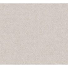 Livingwalls Vliestapete Paradise Garden Tapete Uni grau beige braun 367214 10,05 m x 0,53 m