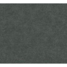 Livingwalls Vliestapete Paradise Garden Tapete Uni schwarz 367219 10,05 m x 0,53 m