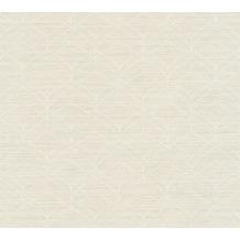 Livingwalls Vliestapete Titanium 2 Tapete beige creme metallic 360044 10,05 m x 0,53 m