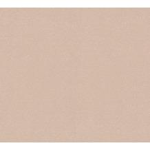 Livingwalls Vliestapete Trendwall Tapete Uni beige metallic 372726 10,05 m x 0,53 m