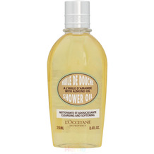 L'Occitane Almond Cleansing & Softening Shower Oil - 250 ml