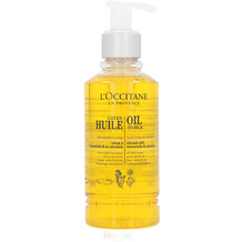 L'Occitane Immortelle Cleanser Oil Milk MakeUp Rem - 200 ml