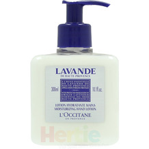L'Occitane Lavande Moisturizing Hand Lotion With Protected Designationn Of Origin 300 ml