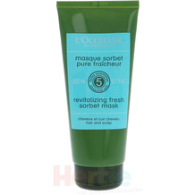 L'Occitane Revitalizing Fresh Sorbet Mask 200 ml