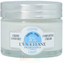 L'Occitane Shea Light Comforting Cream Face - Normnal to Combination skin, Gesichtscreme 50 ml