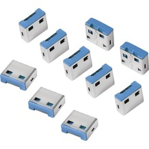 LogiLink USB Port Schloss, 10 Schlösser