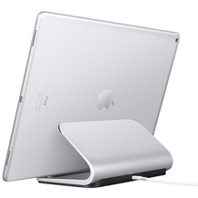 Logitech® BASE Charging Stand with Smart Connector technology For iPad Pro 12 inch and iPad Pro 9.7 inch - SILVER - N/A - EMEA