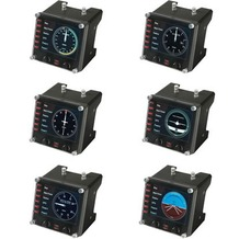 Logitech® G Saitek Pro Flight Instrument Panel - USB - WW
