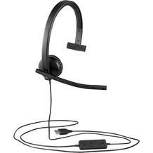 Logitech® H570e - Mono Headset - USB