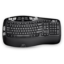 Logitech® K350 cordless Keyboard USB black for Business OEM - EMEA (DE)