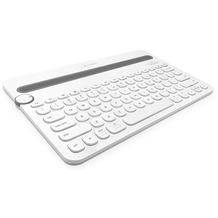 Logitech® K480 - Bluetooth Multi-Device Tastatur - white (qwertz / DE)
