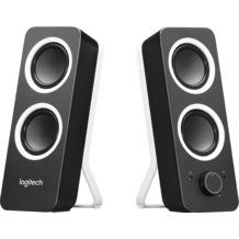 Logitech® Lautsprecher Z200 - 3.5mm - Stereo - 5-10 W Schwarz - Kanal 2.0