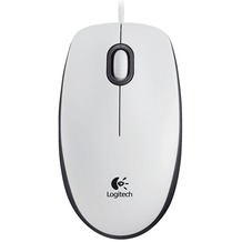 Logitech® M100 Mouse White USB - EMEA