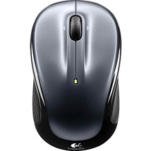 Logitech® Maus M325 - Wireless - Unifying - Optisch Dunkelgrau - 1000 dpi - 3 Tasten