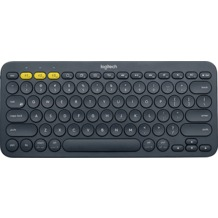 Logitech® Tastatur K380 - Multi-Device - Wireless - Unifying - Bluetooth Schwarz