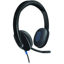 Logitech® USB Headset H540, schwarz