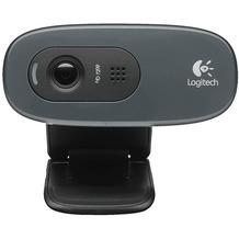 Logitech® Webcam HD C270 - USB - 720p - 3 MP Schwarz