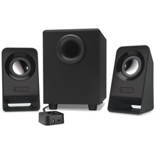 Logitech® Z213 - Lautsprechersystem - für PC - 2.1-Kanal - 7 Watt (Gesamt)