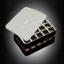 Lurch ICE FORMER Würfel 3x3cm schwarz transparent