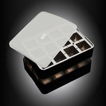 Lurch ICE FORMER Würfel 4x4cm schwarz transparent