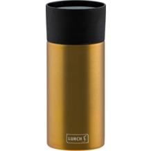 Lurch Isolierbecher 300ml columbia gold aus Edelstahl Thermobecher hält bis zu 12 Std heiß / 24 Std kalt