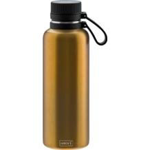 Lurch Outdoor Isolierflasche 1000ml columbia gelb Edelstahl hält bis zu 12 Stunden heiß / 24 Stunden kalt