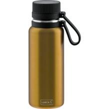 Lurch Outdoor Isolierflasche 500ml columbia gelb aus Edelstahl hält bis zu 12 Stunden heiß/24 Stunden kalt