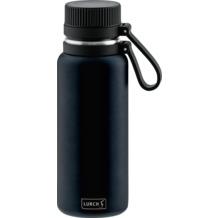 Lurch Outdoor Isolierflasche 500ml nachtblau aus Edelstahl hält bis zu 12 Stunden heiß / 24 Stunden kalt