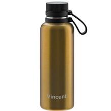 Lurch Outdoor Isolierflasche MIT GRAVUR (z.B. Namen) 1000ml columbia gelb aus Edelstahl